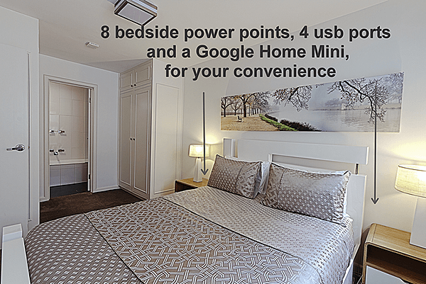 8 bedside power points